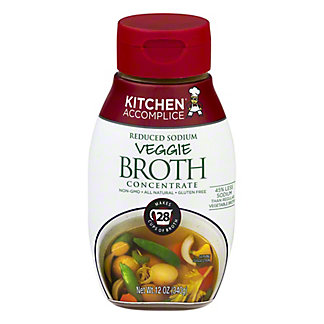 Kitchen Accomplice Veggie Broth Concentrate, 12 OZ