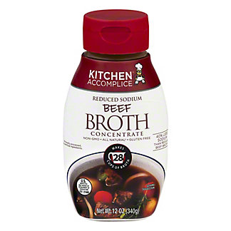 Kitchen Accomplice Beef Broth Concentrate, 12.00 oz