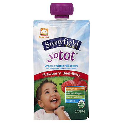 YOTODDLER Yotoddler Single Serve Strawberry Beet Berry, 3.7 oz