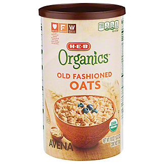 H-E-B Organics Old Fashion Oats, 18 oz