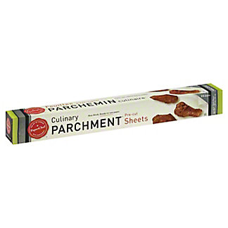 PaperChef Culinary Parchment Pre Cut Sheets,24 ct