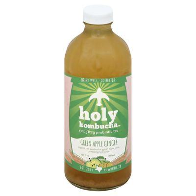 Holy Kombucha Green Apple Ginger 16.9OZ
