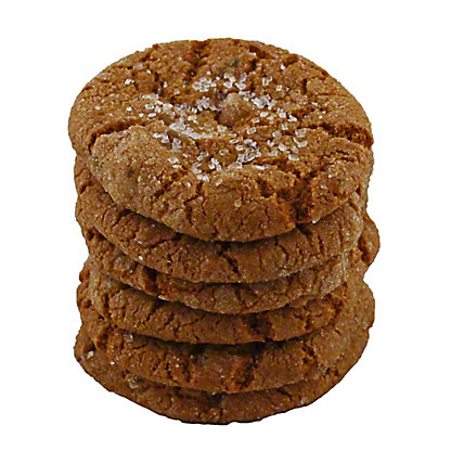 Central Market Chewy Crystallized Ginger Cookies, 6 ct