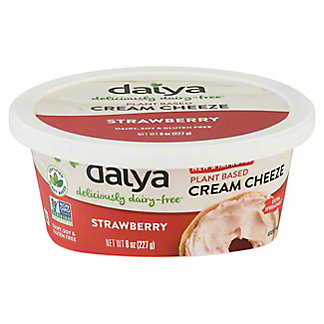Daiya Cream Cheese Spread Strawberry, 8.00 oz