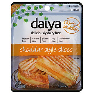 Daiya Cheddar Style Slices Vegan Cheese,7.8 oz