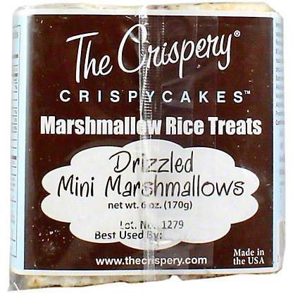 The Crispery Drizzled Mini Marshmallow Rice Treat, 6 OZ