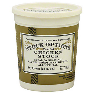 Stock Options Roasted Chicken Stock,28.00 oz