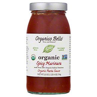 Organico Bello Spicy Marinara Pasta Sauce,25 OZ