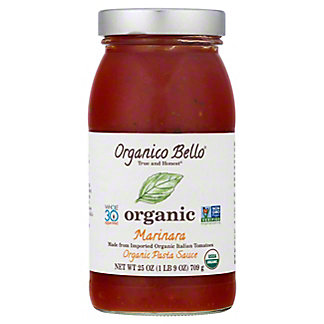 Organico Bello Organic Marinara Sauce,25.00 oz