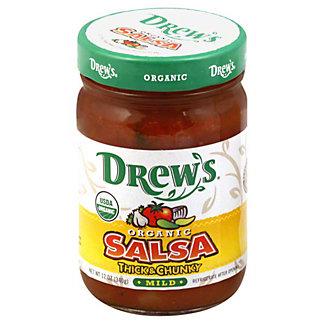Drews Organic Salsa Mild,12.00 oz