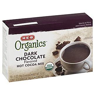 H-E-B Organics Dark Chocolate Hot Cocoa Mix, 10 ct