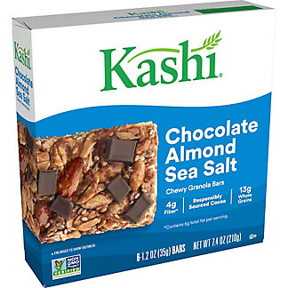 Kashi Chocolate Almond & Sea Salt Chewy Granola Bars,6 ea