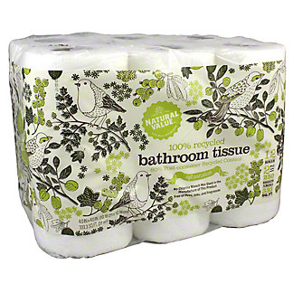 Natural Value Bath Tissue, 12 Rolls