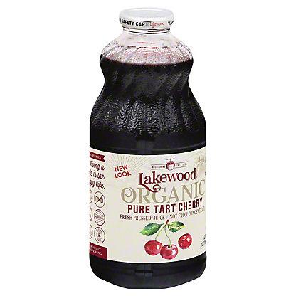 Lakewood Organic Pure Tart Cherry Juice, 32 oz