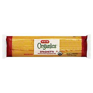 H-E-B Organics Spaghetti,16 OZ