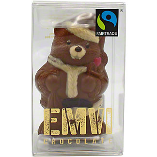 Emvi Milk Chocolate Santa Bear, 3 oz