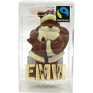 Emvi Milk Chocolate Santa, 3 oz