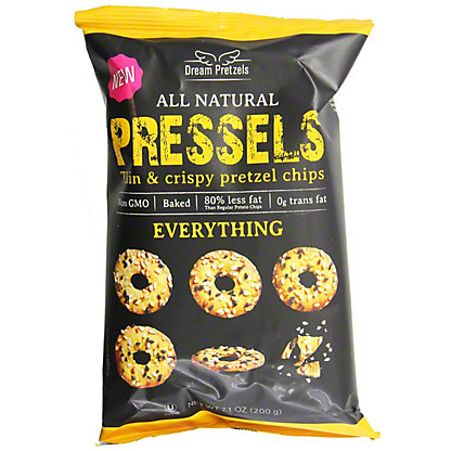 Pressels Everything Thin and Crispy Pretzel Chips,7.1 OZ