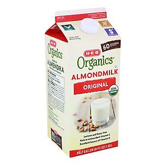 H-E-B Organics Almond Milk Original Flavor,64 oz