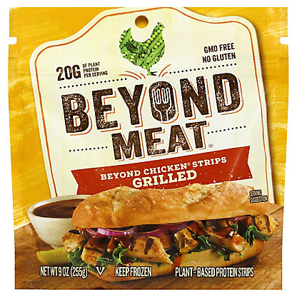 Beyond Meat Grilled Chicken-Free Strips,9 oz