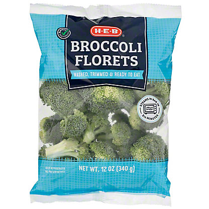 H-E-B Broccoli Florets,12 OZ