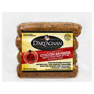 DArtagnan Chicken Southwest Sausage, 9.00 oz