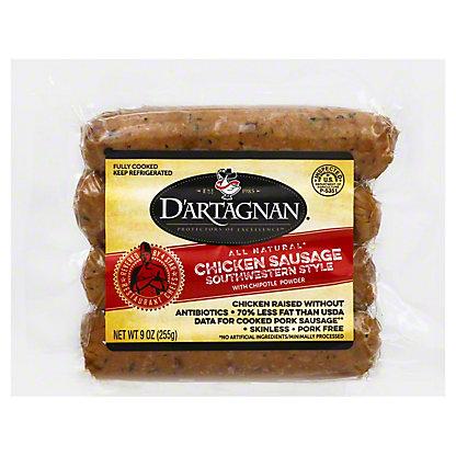 DArtagnan Chicken Southwest Sausage, 9.00 oz
