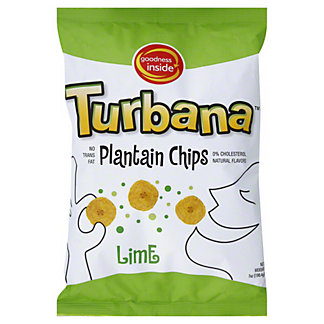 Goodness Inside Plantain Chips Lime,7.00 oz