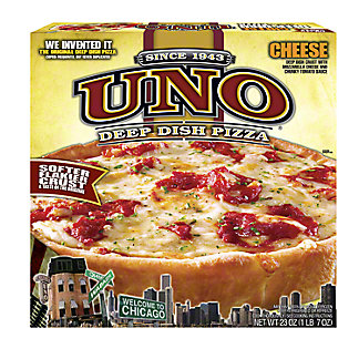 Uno Uno Large Deep Dish Cheese Pizza,23.00 oz