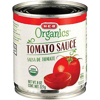 H-E-B Organics Tomato Sauce, 8 oz