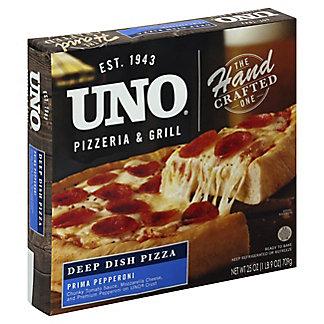 Uno Uno Deep Dish Pepperoni Pizza,25.00 oz
