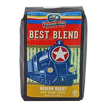 Texas Joe Best Blend Ground Coffee,12 OZ