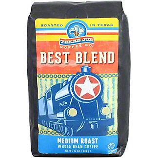 Texas Joe Best Blend Whole Bean Coffee, 12 OZ