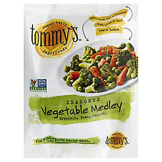 Tommy's Seasoned Steamables The Mix'd Vegetable Medley,12.00 oz