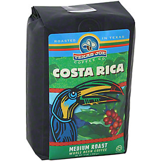 Texas Joe Costa Rica Whole Bean Coffee, 12 OZ