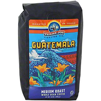 Texas Joe Guatemala Whole Bean Coffee, 12 OZ