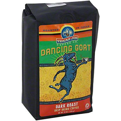 Texas Joe Dancing Goat Drip Grind Coffee, 12 OZ