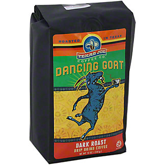 Texas Joe Dancing Goat Drip Grind Coffee, 12 OZ