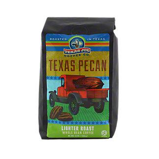 Texas Joe Texas Pecan Whole Bean Coffee, 12 oz