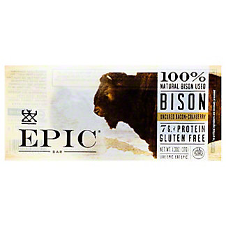 EPIC Bison Bacon + Cranberry Bar, 1.5 oz