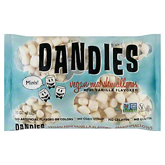 Dandies Vanilla Vegan Marshmallows, 10 oz