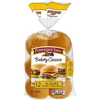 Pepperidge Farm Golden Potato Slider Buns,12.00 ea