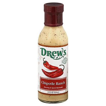 Drew's Chipotle Ranch Salad Dressing,12.00 oz