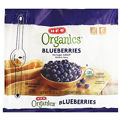 H-E-B Organics Blueberries, 32 oz