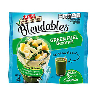 H-E-B Select Ingredients Blendables Green Fuel Smoothie,8.00 oz