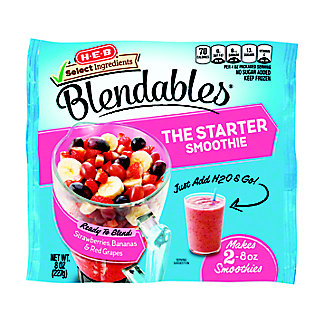 H-E-B Select Ingredients Blendables The Starter Smoothie,8.00 oz