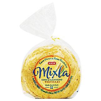 H-E-B Mixla Corn & Flour Blend Tortillas,12 ct