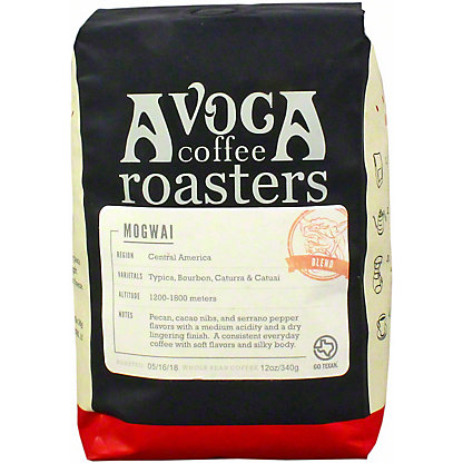 Avoca Mogwai Medium Roast Blend, 12 oz