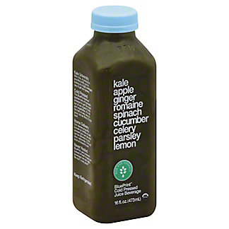Juices page 3 central market blueprint kale apple ginger romaine spinach cucumber celery parsley lemon juice 16 oz malvernweather Image collections