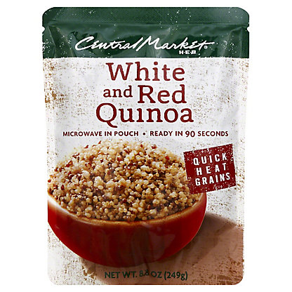 Central Market Quick Heat White and Red Quinoa,8.8 OZ